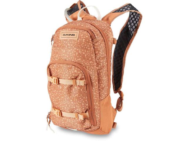 Dakine Session 8l Backpack Women, marrón/naranja